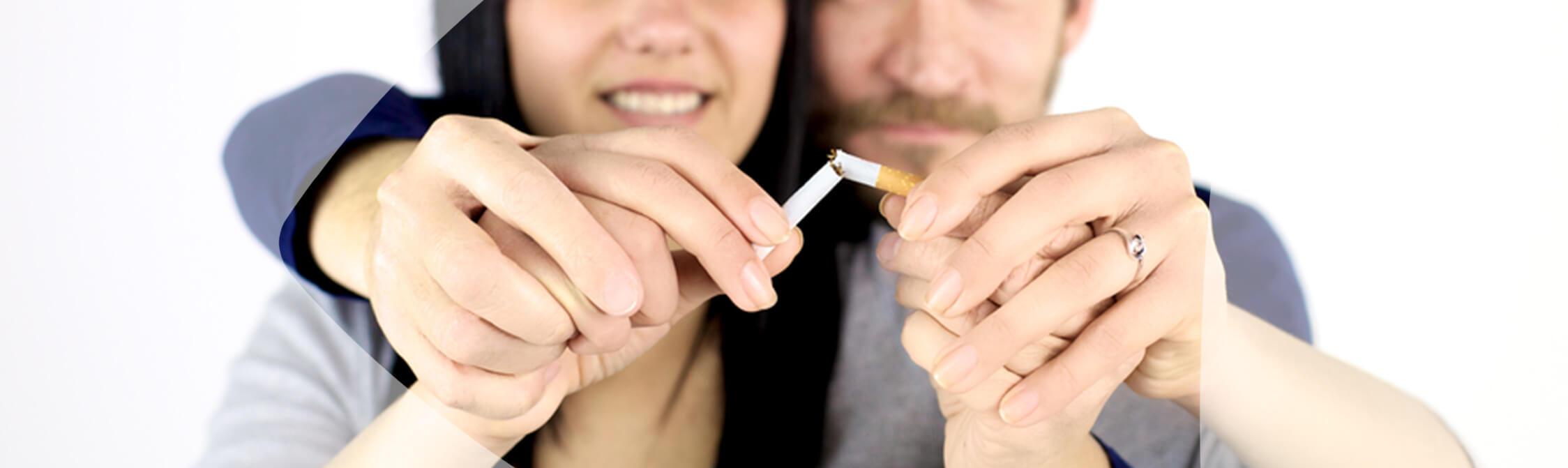 Como são os pulmões dos fumadores